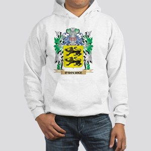 O'Rourke Coat of Arms - Family C Hooded Sweatshirt